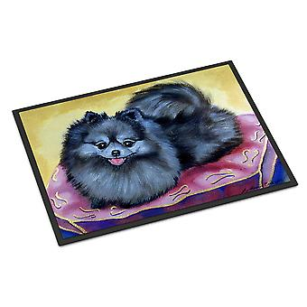 Caroline's Treasures 7503MAT Pomeranian Zerbino esterno interno, 18 x 27, Multicolor