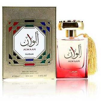 Alwaan By Nusuk Eau De Parfum Spray (unisex) 3.4 Oz (women) V728-553682