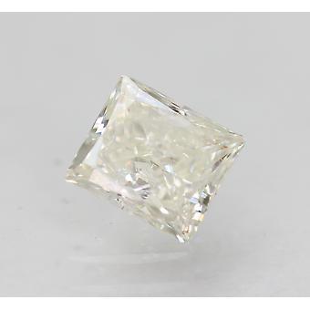 Sertifioitu 0,52 karat G SI2 Princess Enhanced Natural Loose Diamond 4,85x4,33mm