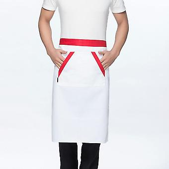 Manches courtes d'été, chemise de chef en maille, veste de cuisine et femmes