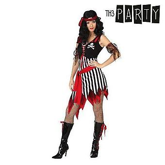 Costume for adults female pirate (5 pcs)