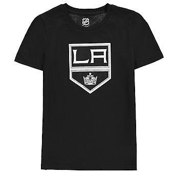 NHL Kids Logo Casual Everyday Crew Neck Short Sleeve Cotton T Shirt Tee Top