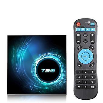 T95 Smart Tv Box Android 10 6k 2.4g & 5g Wifi Bluetooth 5.0 4g 16g 32gb 64gb 4k