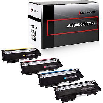 4 Logic-Seek XL Toner kompatibel mit Samsung CLT-P404C /ELS fr Samsung Xpress SL-C480W C480FW C480FN