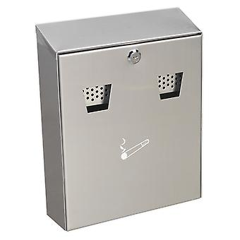 Sealey Rcb02 Cigarette Bin Wall Mounting Stainless Steel