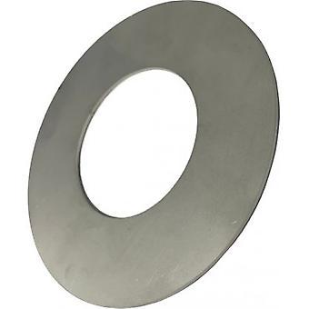Platt tvättmaskin - 29 mm innerdiameter - Rostfritt stål