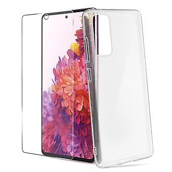 Case Samsung S20 FE Soft and Glass 9H 4Smarts Clear