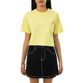 Women's T-shirt dickies ss porterdale crop w dk0a4xdeb54