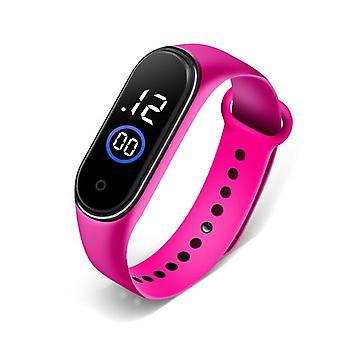 Silikonowe zegarki dla dzieci dla studentów
