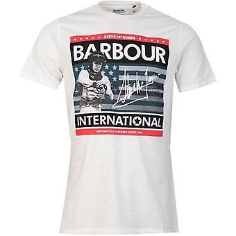 Barbour Steve McQueen International Time Steve T-Shirt