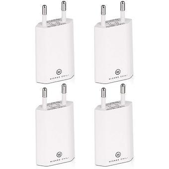 FengChun 4X Pro Serie Netzteil USB Adapter kompatibel mit Apple iPhone, Samsung Galaxy/Handy