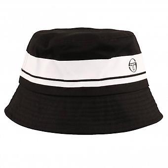 Sergio Tacchini Greater Bucket Hat - Black/White