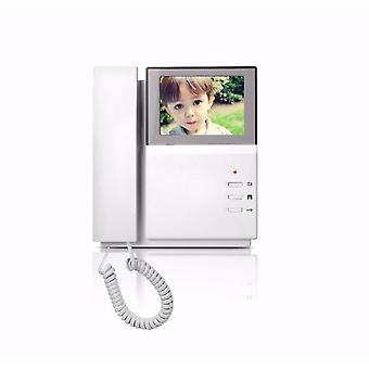 Ręczny wideodaufon wewnętrzny monitor do domofonu system kolor Tft LCD
