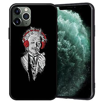 iPhone 12, 12 Pro & Max Shell Einstein Smokes Pipe Headphones