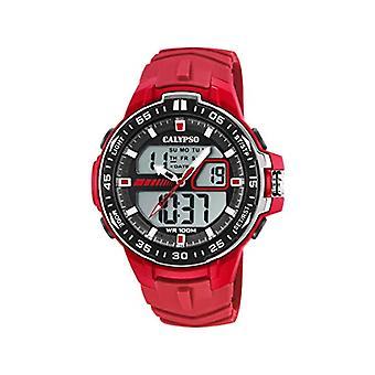 Calypso Watches Analog-Digital Watch Quartz Man with Plastic Strap K5766/2