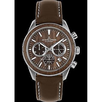 جاك ليمانز ساعة اليد UNISEX الطاقة البيئية 1-2115B
