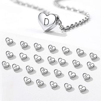 Sterling Silver Initial Necklace Letter Z