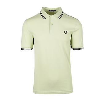 Fred Perry Twin Tipped Polo Shirt Willow