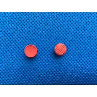 Punainen pallo hiiri korkit