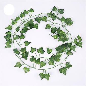 الحرير الأخضر الاصطناعي شنقا ورقة