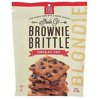 Sheila Gs Cookie Blondie Choc Chip, prípad 12 X 5 Oz