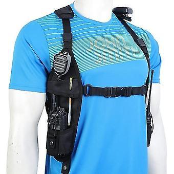 nieuwe pt-11 borst harnas voor pack pouch holster vest rig voor walkie talkie sm45549