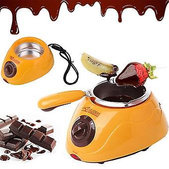 Panela de derretimento de chocolate quente durável Máquina melter de fondue conjunto diy ferramenta