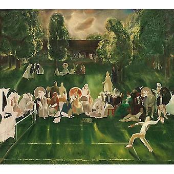 Tennis Tournament , George Bellows