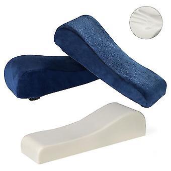 Armstödskuddar täcker skum armbågskuddens underarm tryckavlastningsarmstödskydd för hemmakontorsstolar