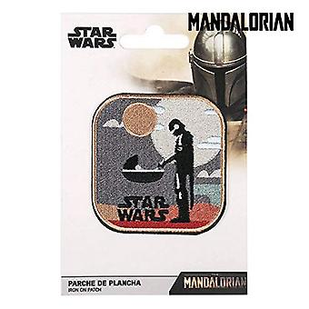 Patch The Mandalorian Polyester