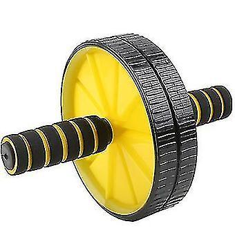 Съемные упражнения для брюшной полости Ab Roller Wheel, Домашний фитнес Пилатес Колесо йоги (желтый)