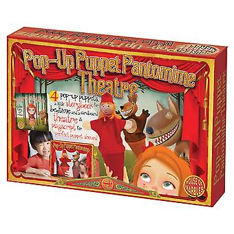 Little Red Riding Hood Puppet Theatre Regalo en caja para niños