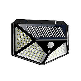 100LED أضواء الطاقة الشمسية في الهواء الطلق حديقة الجسم البشري التعريفي مصباح مصباح