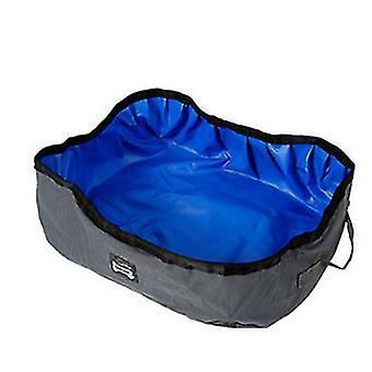 Foldinglitter box for portabletoilet(Gray Blue)