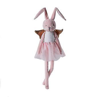 الوردي الأرنب أفخم لعبة لطيف دمية لينة محشوة الرقم للأطفال