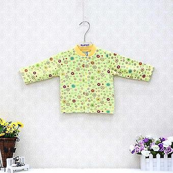Baby Blus Velour höst och vinter skjortor - nyfödda mjuk tyg kläder