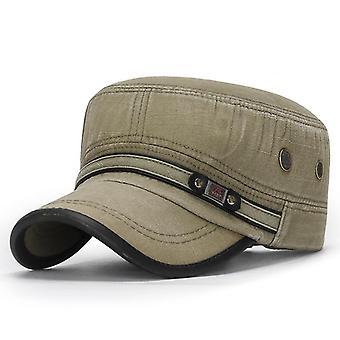 ארבע עונות קלאסי וינטג שטוח העליון גברים שטף כובע