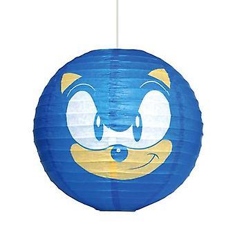 Sonic The Hedgehog Paper Light Shade