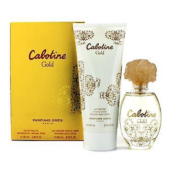 Women's Perfume Set Cabotine Gold Gres (2 pcs)
