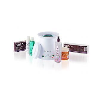 Hive av skönhet vaxning Neos värmare hårborttagningsmedel eller paraffin vax lotion 500cc kit