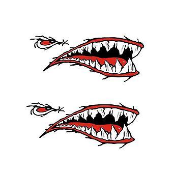 3d Shark Waterproof Diy Rowing Kayak Stickers