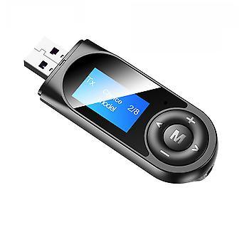 Bluetooth 5.0 Bluetooth Adapter Muziek ontvangen en verzenden