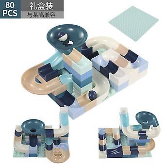 Children's Building Blocks Assembling Large Particles Boys And Girls Puzzle Slide