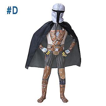 Star Wars Mandalorian Jumpsuit Pančucháče Halloween Cosplay Oblečenie