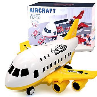 Grand jouet d'avion pour enfants Modèle Jaune