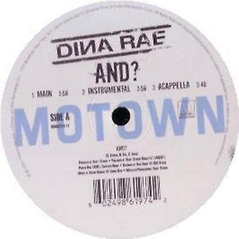 Dina Rae - And [Vinyl] USA import
