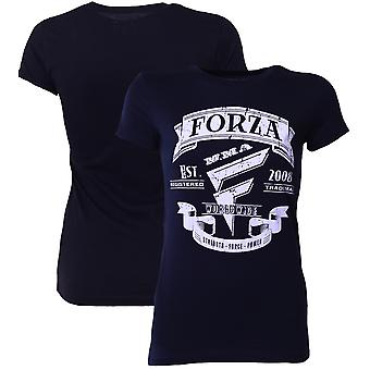 "Forza sport vrouw ""Origins"" MMA T-Shirt - Midnight Navy"