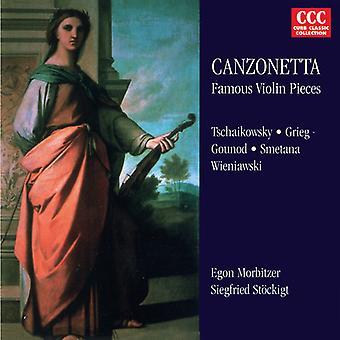 Fibich/Grieg - Canzonetta: Beroemde viool stukken [CD] USA import