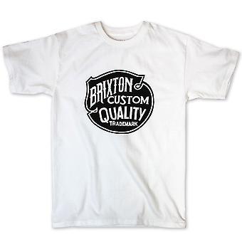 Brixton Roy t-paita valkoinen
