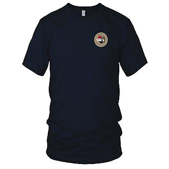 US Army - 101e Airborne Infantry Division brodé Patch - opération Iraqi Freedom Desert Mens T Shirt